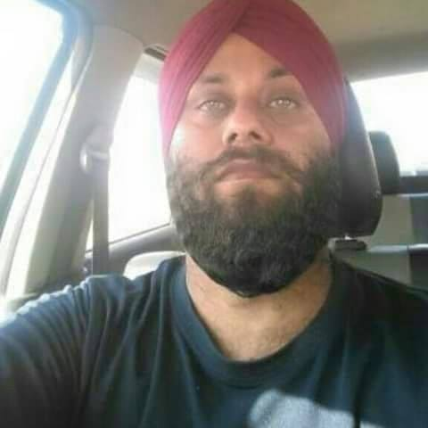 Shaheed bhai Jagjeet singh s o narvair singh chohalla T.S Purra Jammu died shot by the Indian police.picture
