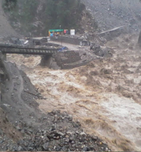 TERRIFYING PICTURES FROM SRI HEMKUND SAHIB YATRA AFTER RAINS CAUSE HAVOC 5