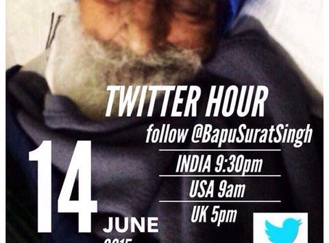 TWITTER HOUR STARTS NOW!