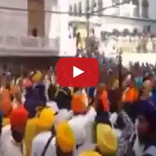 Video Amritsar, thousands of Sikhs have gathered! 31 years let's not forget!
