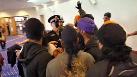After Gadar gurdwara committee booked sham wedding mighty Singhs forced police and Commitee to stop beadbi
