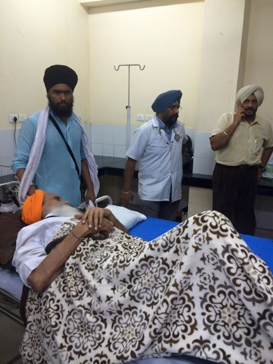 Bapu Ji in hospital