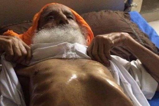 Bapu Surat Singh Ji's current weight - 35 Kgs