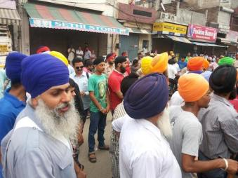 Ludhiana shut down Massive support in support of Bapu Surat Singh 5