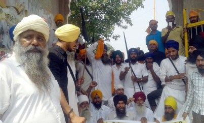 Police Desists Sikhs Holding March Planned from Ajnala to Akal Takht in Support of Bapu Surat Singh Khalsa 12
