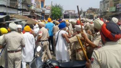 Police Desists Sikhs Holding March Planned from Ajnala to Akal Takht in Support of Bapu Surat Singh Khalsa 6