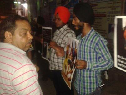 Rally in Delhi in support of Bapu Surat Singh Khalsa and violation of human rights. (5)