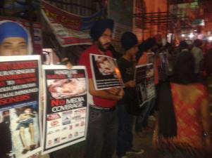 Rally in Delhi in support of Bapu Surat Singh Khalsa and violation of human rights. (9)