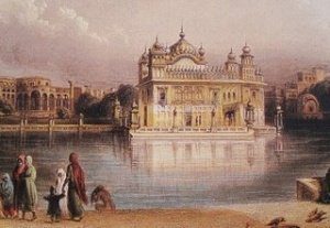 The Golden Temple aka Harimandar Sahib was built near the location where this event took place