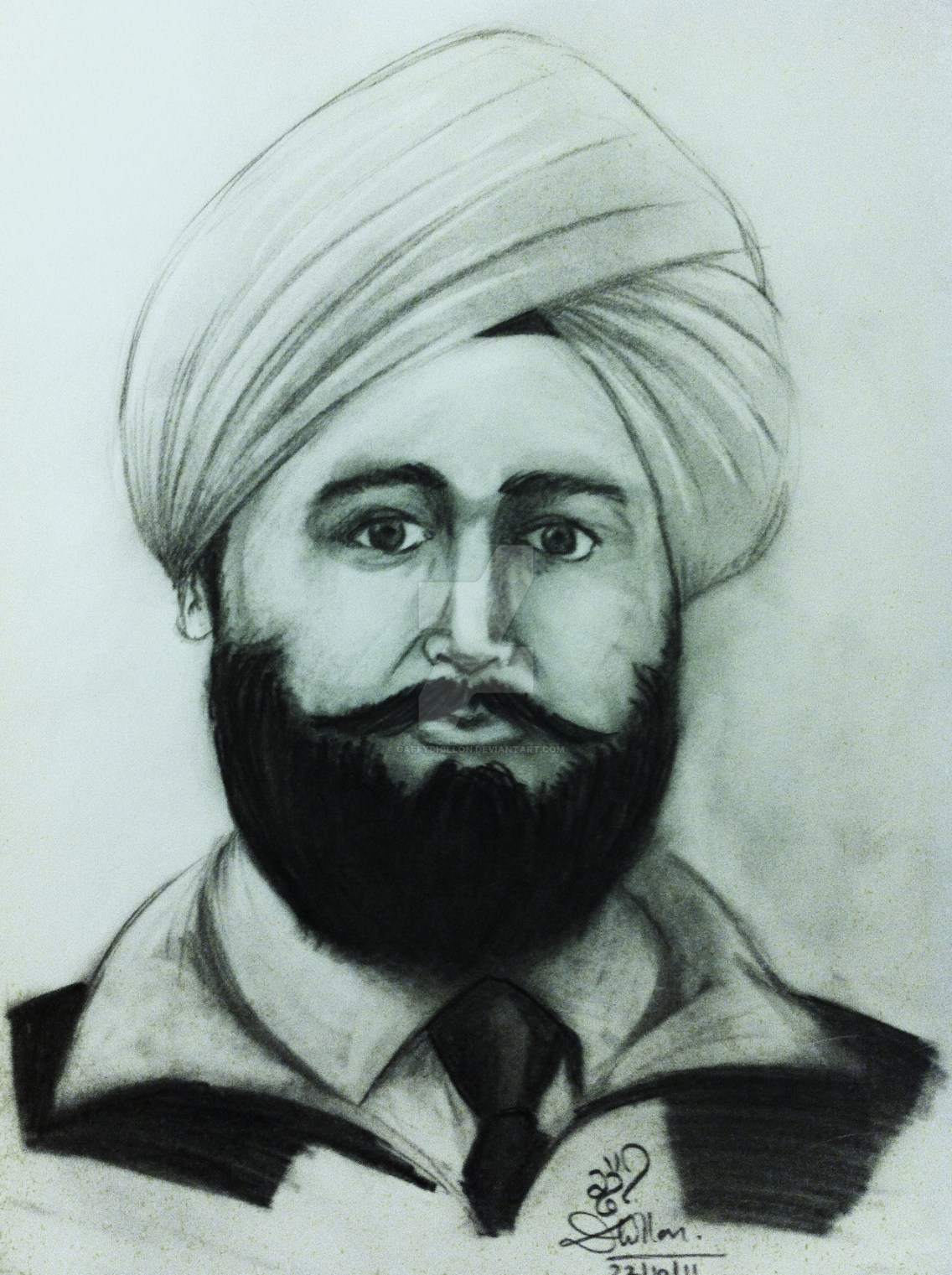 udham_singh_by_gaffydhillon-drawing picture