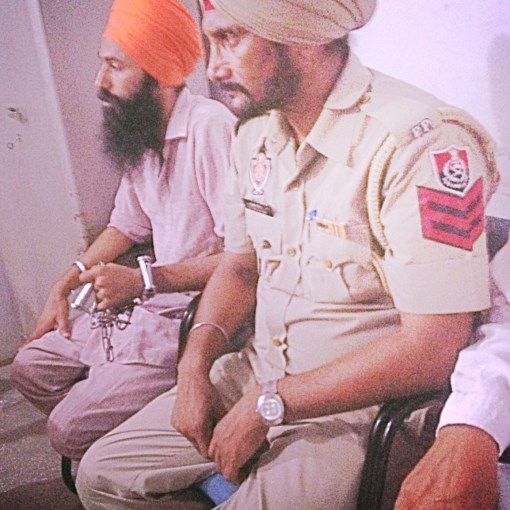 Bhai Papalpreet Singh in police custody