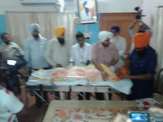 Bapu Surat Singh picked up by police, Shifted to Patiala