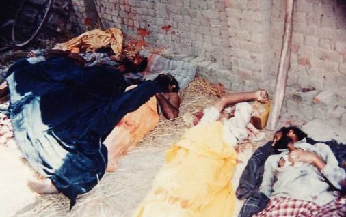 Genocide of sikhs family killed