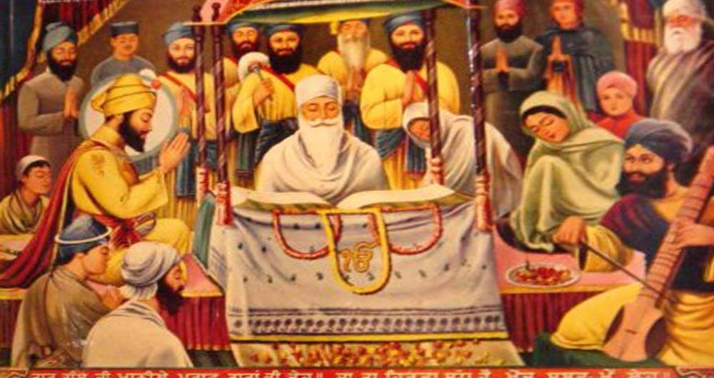 September 1, 1604 the First Prakash Purab of Shri Guru Granth Sahib Ji.