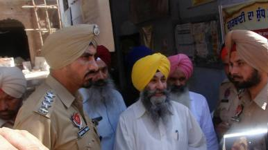 Today police arrested prof.Mohinder pal singh General secratry SADA 4