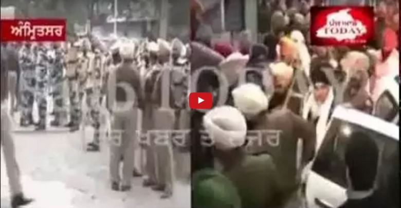 Police Fake Claims : Bhai Dhian Singh Mand of Having Connection With Pakistan   Send 3 day Remand