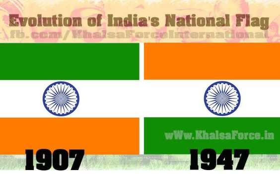 Evolution of India's National Flag