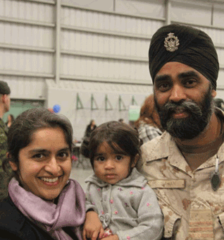 Harjit is married to Dr. Kuljit Kaur Sajjan, a UBC-educated family doctor, and together they have two young children.