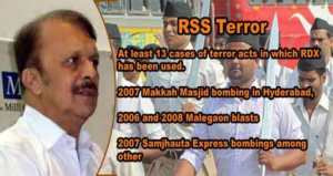 RSS activists have been indicted in at least 13 terror cases across India