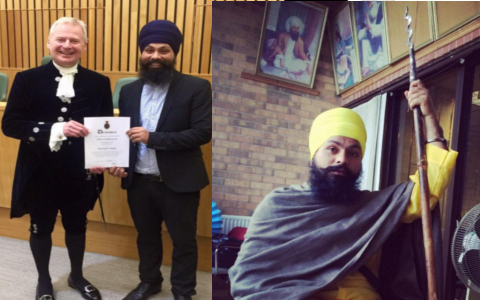 Vikramjeet Singh Uses Gatka Skills To Tackle Thief In UK Shop
