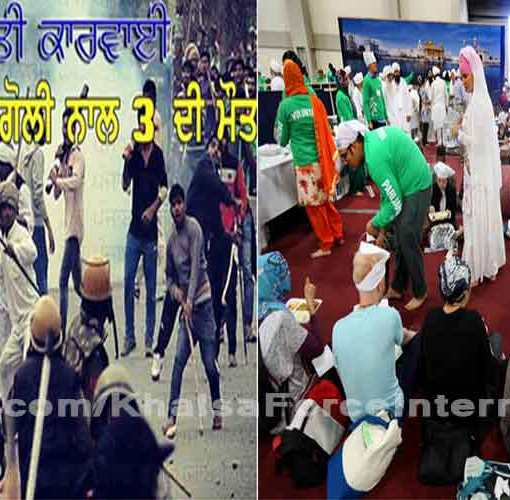 GURDWARAS COME TO THE RESCUE TO THOSE STRANDED DURING JAT AGITATION ACROSS HARYANA