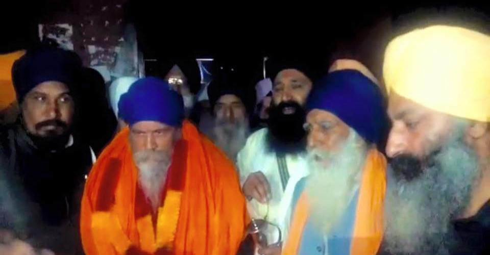 BABA NAGINDER SINGH SAHNEWAL BEEN RELEASED ON BAIL