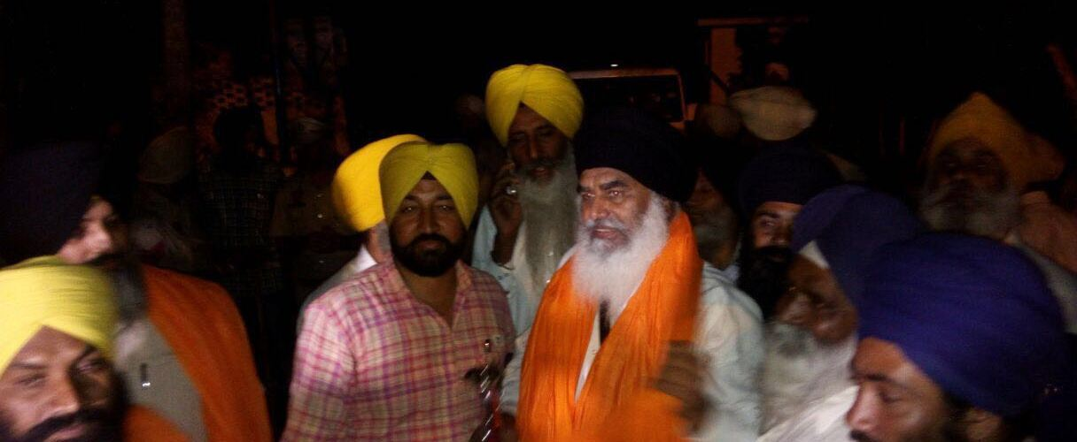 Interim Jathedar Bhai Dhian Singh Mand And Others 4 Released from Nabha Jail