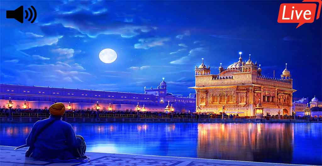 Live Kirtan from Sri Harmandir Sahib Golden Temple | Gurbani With Meaning Display Screen