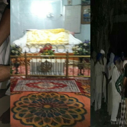 Beadbi of Sri Guru Granth Sahib ji at village of Kire Afgana near Sri HargobindPur , Distt - Gurdaspur