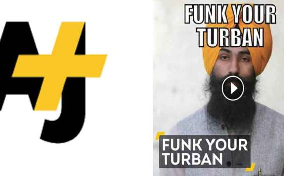 AJ+ | A Racist Poster About Turbans Just Sparked The Best Reaction Ever.