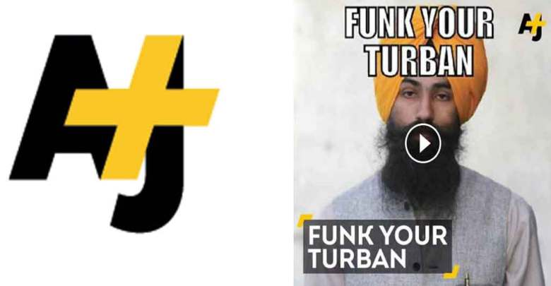 AJ+   A Racist Poster About Turbans Just Sparked The Best Reaction Ever.