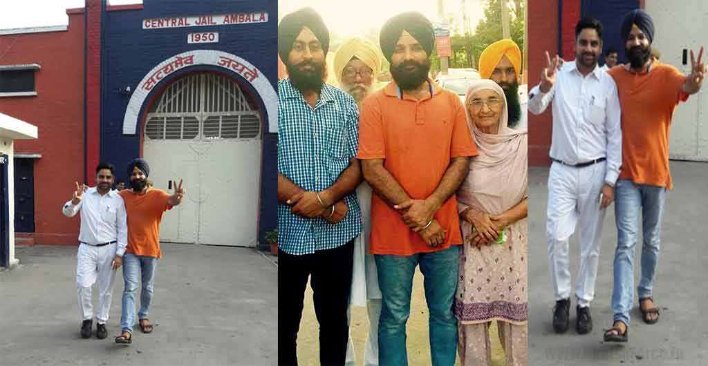 Journalist Surinder Singh Released from Ambala Jail