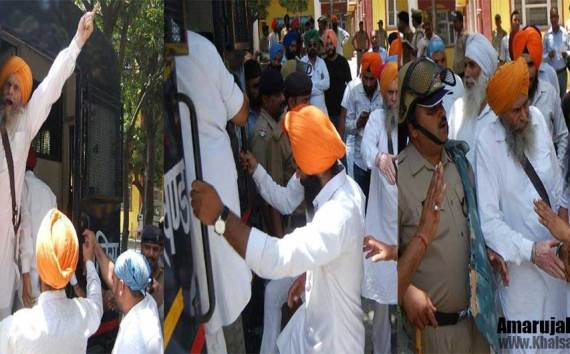 Protest | 24 Sikh Arrested In Haridwar (Har Ki Pauri)