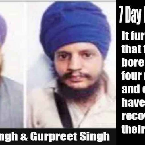 Two More Sikhs Arrested | Police Says They are Linked to Those Arrested Last Month | Gurpreet Singh Peet & Simranjit Singh Nikka