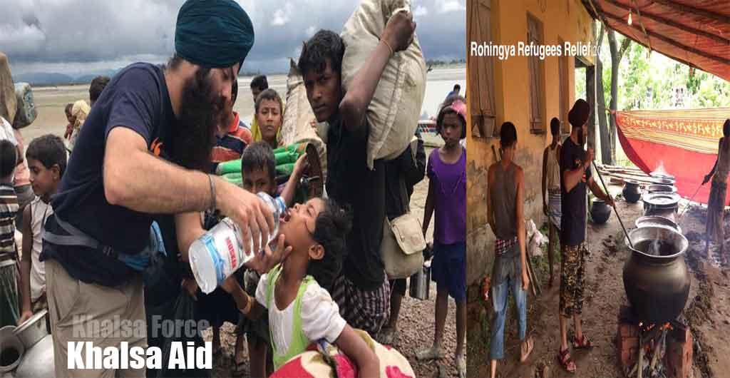 Khalsa Aid | Helping the Rohingya Muslim Refugees in Bangladesh | Donate To This Project | Facing Severe Food Shortages