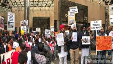 Melbourne Sikhs Join Protest Against Rohingya Muslims Genocide