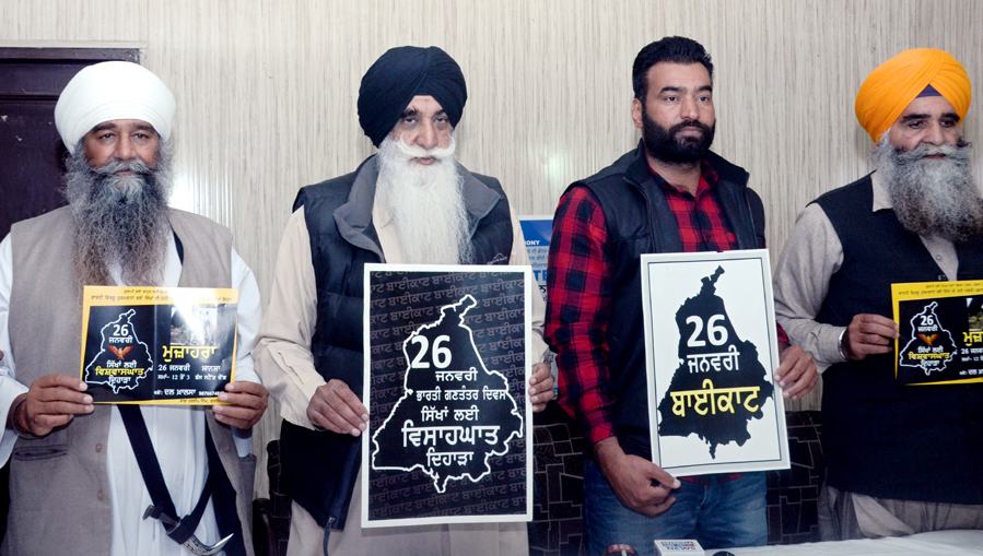 Dal Khalsa to observe India's 'Republic day' as day of deceit and assimilation