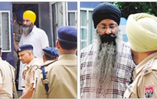 Rulda Singh Case: Bhai Jagtar Singh Tara and Ramandeep Singh Goldy Presented in Patiala Court Under Tight Security