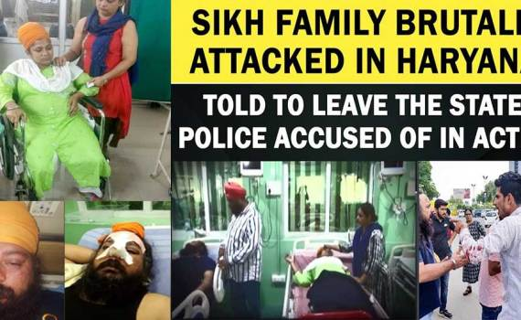 Sikh Family Brutally Attacked in Haryana