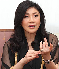 Yingluck applies for P.Thai party list...King Prem can't handle woman PM
