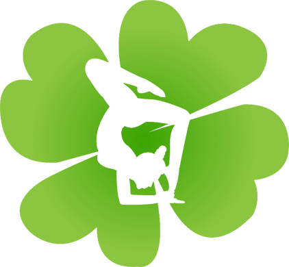 Clover-Leaf-for-Luck-with-Yoga-Practise