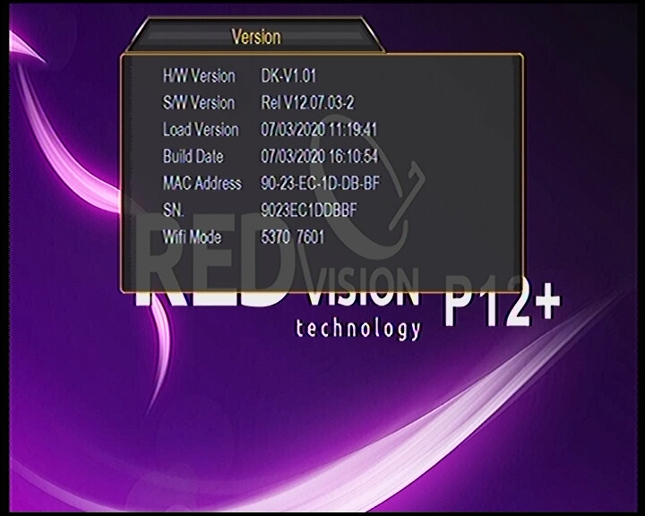 REDVISION P12 Plus Software