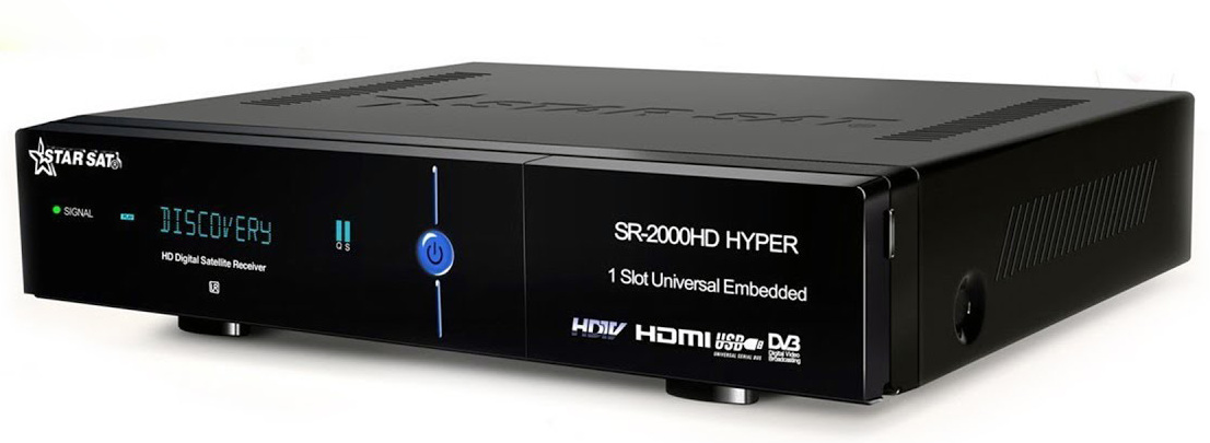 starsat 2000 hyper new software