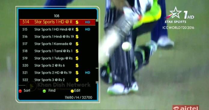 Airtel HD Channel Audio