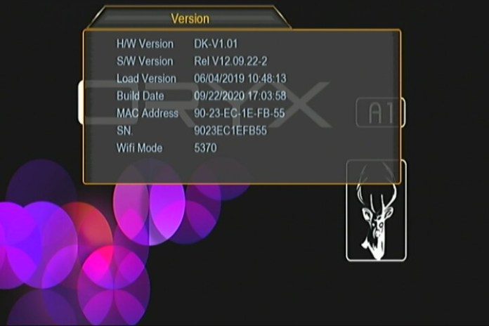 oryx a1 new software