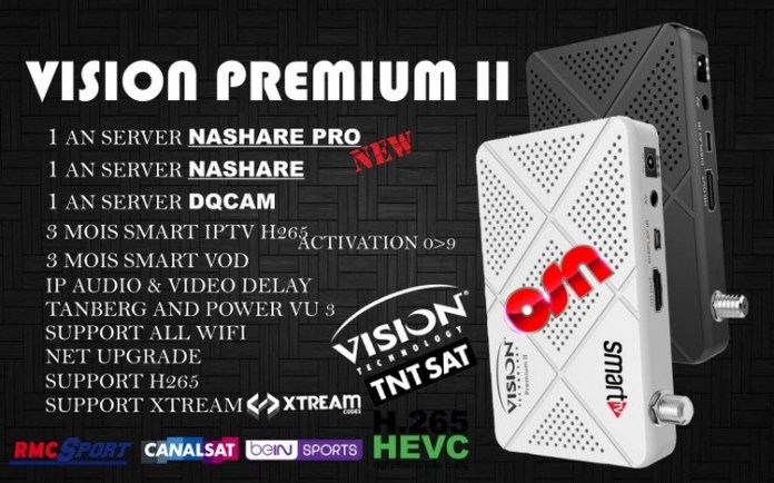 Vision Premium 1507g new software