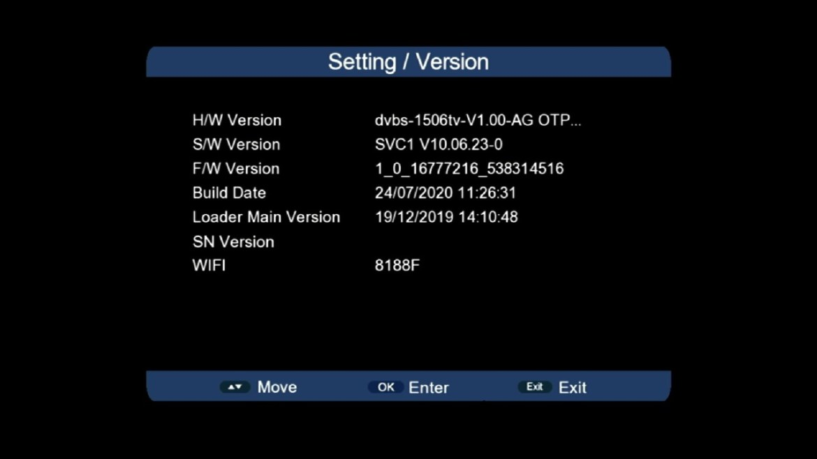 1506tv built-in wifi software