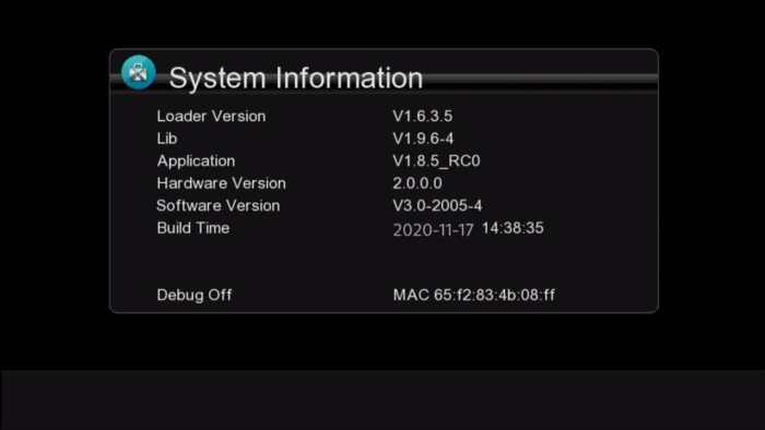 gx6605s 5815 v4.1 new software
