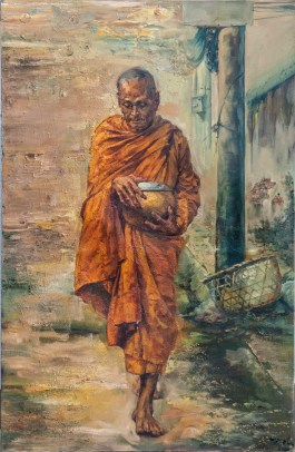 The monk II - 2010 - oil on canvas - 80x120 cm