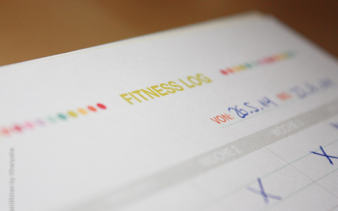 Freebie: Filofax Fitness Log